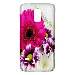 Pink Purple And White Flower Bouquet Galaxy S5 Mini