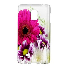 Pink Purple And White Flower Bouquet Galaxy Note Edge