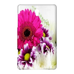 Pink Purple And White Flower Bouquet Samsung Galaxy Tab S (8.4 ) Hardshell Case