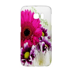 Pink Purple And White Flower Bouquet Galaxy S6 Edge