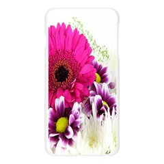 Pink Purple And White Flower Bouquet Apple Seamless iPhone 6 Plus/6S Plus Case (Transparent)