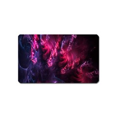 Abstract Fractal Background Wallpaper Magnet (name Card)