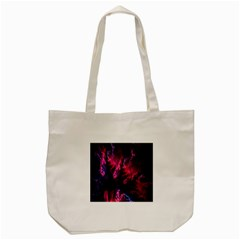 Abstract Fractal Background Wallpaper Tote Bag (cream)