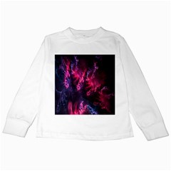 Abstract Fractal Background Wallpaper Kids Long Sleeve T Shirts