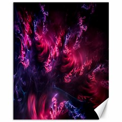Abstract Fractal Background Wallpaper Canvas 11  X 14