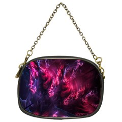 Abstract Fractal Background Wallpaper Chain Purses (one Side)