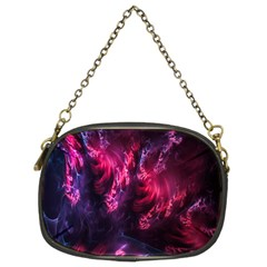 Abstract Fractal Background Wallpaper Chain Purses (two Sides)