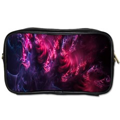 Abstract Fractal Background Wallpaper Toiletries Bags 2 Side