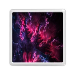 Abstract Fractal Background Wallpaper Memory Card Reader (square)