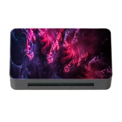 Abstract Fractal Background Wallpaper Memory Card Reader With Cf