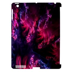 Abstract Fractal Background Wallpaper Apple iPad 3/4 Hardshell Case (Compatible with Smart Cover)
