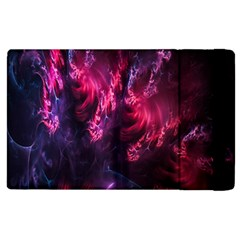 Abstract Fractal Background Wallpaper Apple iPad 2 Flip Case