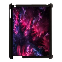 Abstract Fractal Background Wallpaper Apple iPad 3/4 Case (Black)