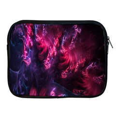 Abstract Fractal Background Wallpaper Apple iPad 2/3/4 Zipper Cases