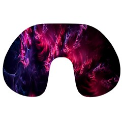 Abstract Fractal Background Wallpaper Travel Neck Pillows