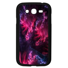 Abstract Fractal Background Wallpaper Samsung Galaxy Grand DUOS I9082 Case (Black)