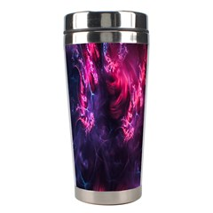 Abstract Fractal Background Wallpaper Stainless Steel Travel Tumblers