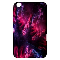Abstract Fractal Background Wallpaper Samsung Galaxy Tab 3 (8 ) T3100 Hardshell Case