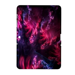 Abstract Fractal Background Wallpaper Samsung Galaxy Tab 2 (10.1 ) P5100 Hardshell Case