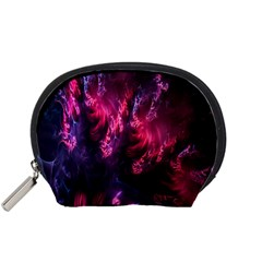 Abstract Fractal Background Wallpaper Accessory Pouches (small)