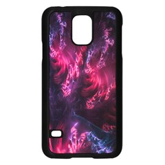 Abstract Fractal Background Wallpaper Samsung Galaxy S5 Case (Black)