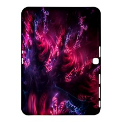 Abstract Fractal Background Wallpaper Samsung Galaxy Tab 4 (10.1 ) Hardshell Case
