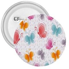 Butterfly Pattern Vector Art Wallpaper 3  Buttons
