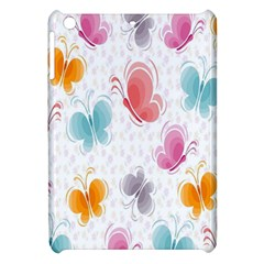 Butterfly Pattern Vector Art Wallpaper Apple iPad Mini Hardshell Case