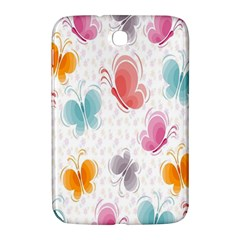 Butterfly Pattern Vector Art Wallpaper Samsung Galaxy Note 8.0 N5100 Hardshell Case
