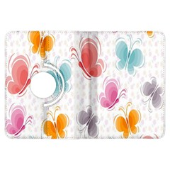 Butterfly Pattern Vector Art Wallpaper Kindle Fire Hdx Flip 360 Case