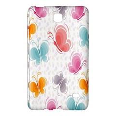 Butterfly Pattern Vector Art Wallpaper Samsung Galaxy Tab 4 (8 ) Hardshell Case