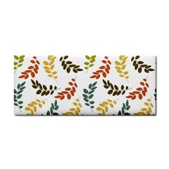 Colorful Leaves Seamless Wallpaper Pattern Background Cosmetic Storage Cases