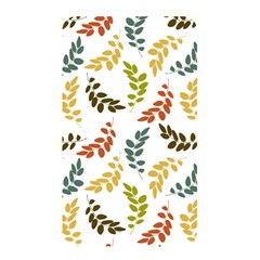 Colorful Leaves Seamless Wallpaper Pattern Background Memory Card Reader