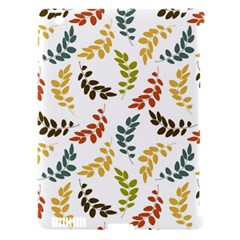 Colorful Leaves Seamless Wallpaper Pattern Background Apple iPad 3/4 Hardshell Case (Compatible with Smart Cover)