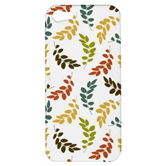 Colorful Leaves Seamless Wallpaper Pattern Background Apple iPhone 5 Hardshell Case