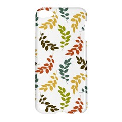 Colorful Leaves Seamless Wallpaper Pattern Background Apple iPod Touch 5 Hardshell Case