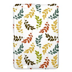 Colorful Leaves Seamless Wallpaper Pattern Background Kindle Fire Hd 8 9