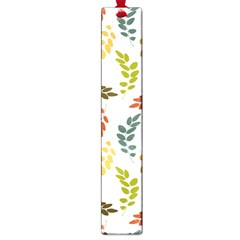 Colorful Leaves Seamless Wallpaper Pattern Background Large Book Marks
