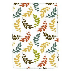Colorful Leaves Seamless Wallpaper Pattern Background Flap Covers (S)