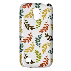 Colorful Leaves Seamless Wallpaper Pattern Background Galaxy S4 Mini