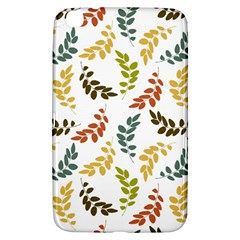Colorful Leaves Seamless Wallpaper Pattern Background Samsung Galaxy Tab 3 (8 ) T3100 Hardshell Case