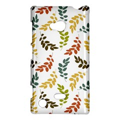 Colorful Leaves Seamless Wallpaper Pattern Background Nokia Lumia 720