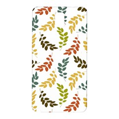 Colorful Leaves Seamless Wallpaper Pattern Background Samsung Galaxy Note 3 N9005 Hardshell Back Case