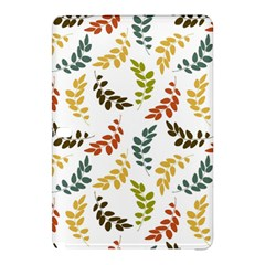 Colorful Leaves Seamless Wallpaper Pattern Background Samsung Galaxy Tab Pro 10 1 Hardshell Case