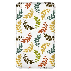 Colorful Leaves Seamless Wallpaper Pattern Background Samsung Galaxy Tab Pro 8.4 Hardshell Case
