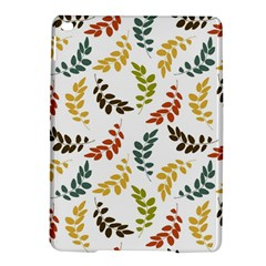 Colorful Leaves Seamless Wallpaper Pattern Background iPad Air 2 Hardshell Cases