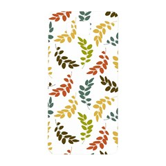 Colorful Leaves Seamless Wallpaper Pattern Background Samsung Galaxy Alpha Hardshell Back Case