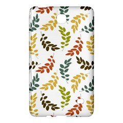 Colorful Leaves Seamless Wallpaper Pattern Background Samsung Galaxy Tab 4 (8 ) Hardshell Case