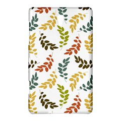 Colorful Leaves Seamless Wallpaper Pattern Background Samsung Galaxy Tab S (8 4 ) Hardshell Case