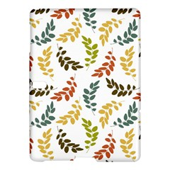 Colorful Leaves Seamless Wallpaper Pattern Background Samsung Galaxy Tab S (10.5 ) Hardshell Case